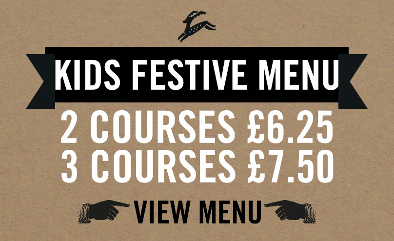 Kids Festive Menu at The Junction