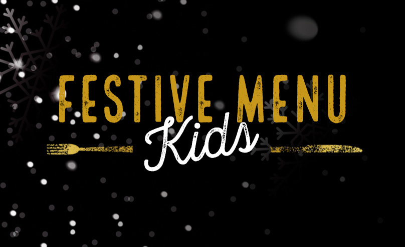 Festive Kids Menu at The Junction